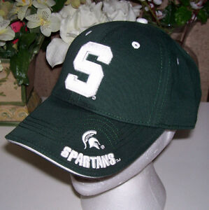 Michigan State Spartans Team Cap and T Shirt