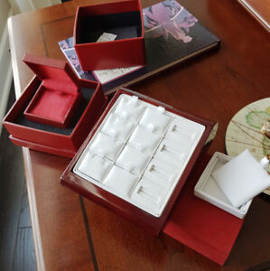brand new jewellery displays and boxes