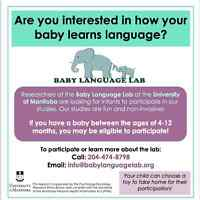 Infant Research Participants Needed!