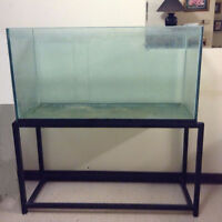 Fish tank and stand-90 gals