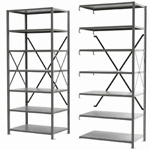 INDUSTRIAL | STEEL SHELVING - BOLTED | BOLTLESS | WIDESPAN