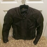 Motorcycle JACKET ........ Ladies small ..... with built in Pads
