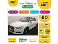 Audi A3 Sport FROM £88 PER WEEK!