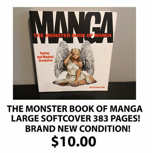 THE MONSTER BOOK OF MANGA! BRAND NEW CONDITION!