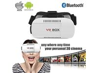 VR BOX 3D Virtual Reality Headset + For iPhone & Android Smart Phones