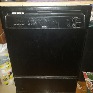 Urgent Kenmore Dishwasher w Quite Function wooden counter top