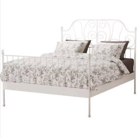 Doubled bed frame