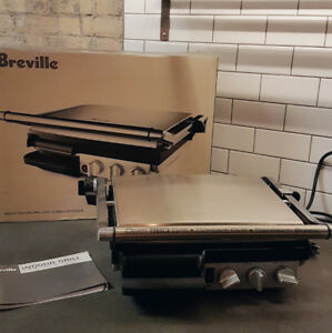 Breville stainless steel indoor Grill