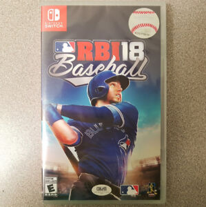 RBI Baseball 18 Switch Game