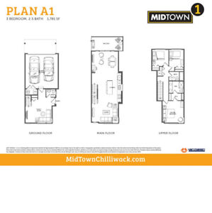 Chilliwack for Rent  New Townhouse / House for Rent  in Midtown