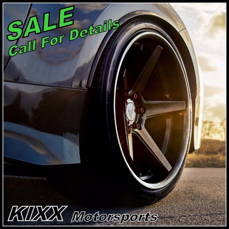"""20"""" Ferrada Fr3 20x9+20 20x10.5+20 Black Concave Wheels For Bmw E92 E93 M3"""