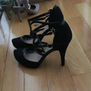 Brand new justfab heels with box (different styles!)