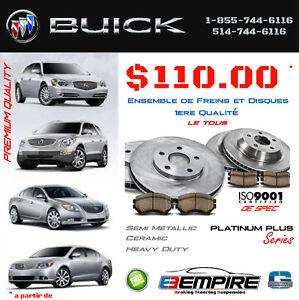 Freins • Brakes •Buick ENCLAVE • RAINIER • RENDEZ VOUS • TERRAZA