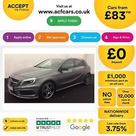 Mercedes-Benz A180 Night Edition FROM £83 PER WEEK!