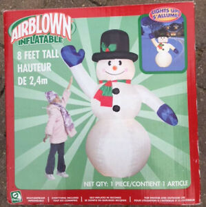 CHRISTMAS LAWN BLOW UPS - Prices in Description