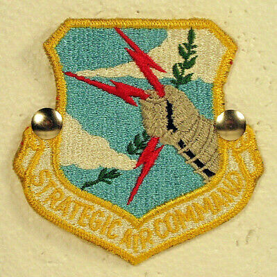 USAF US Air Force Strategic Air Command SAC Full Color Insignia Badge Patch (Air Force Command Badge)