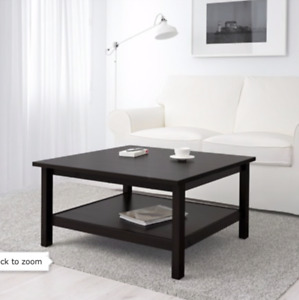 IKEA Hemnes Coffee Table - Black/Brown, Good condition