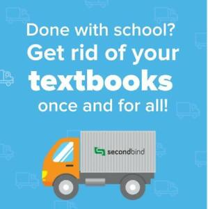 Done with school? Get rid of your textbooks once and for all!