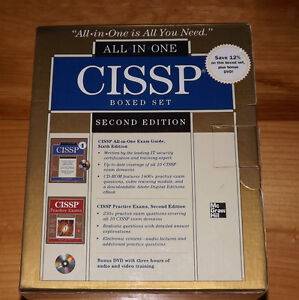 CISSP (Certified Information Systems Security Professional) book