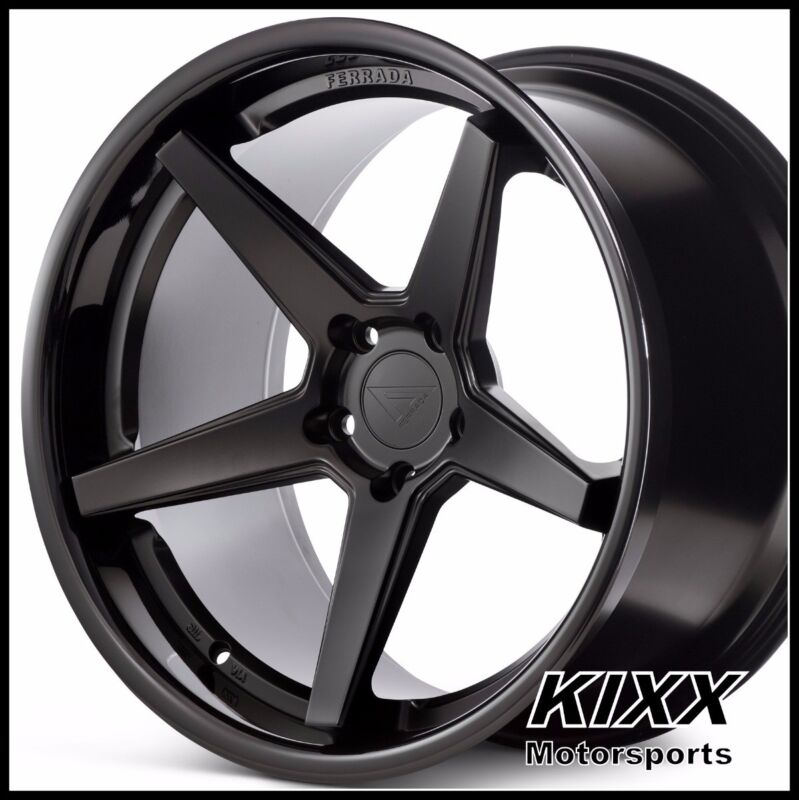 "NEW 20"" FERRADA FR3 20x9 20x10.5 BLACK WHEELS for INFINITI Q50 Q70 SEDAN"