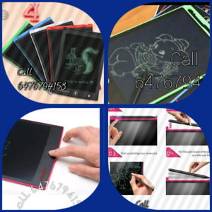 LCD writing and drawing tablets for kids