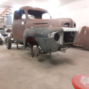 Wanted 48 Ford truck cab