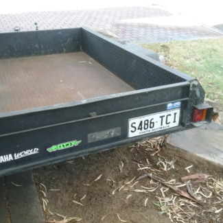 7 x 4 modern trailer St Agnes Tea Tree Gully Area Preview
