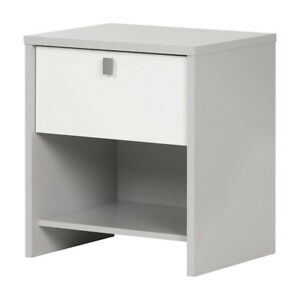 South Shore Furniture 10513 Cookie 1 Drawer Nightstand