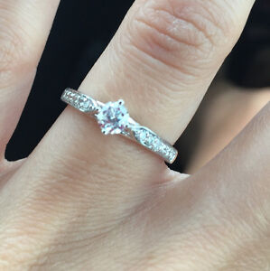 Engagement Ring with Canadian Diamonds Kitchener / Waterloo Kitchener Area image 1