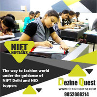 Dezine Quest DQ Best NIFT NID Coaching Institute for Skill Growt