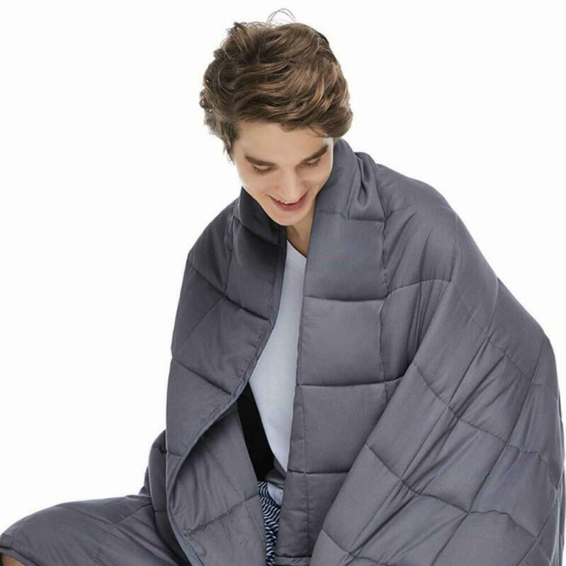 Zonli Weighted Blanket 20 Lbs | 60''X80''| Cooling Weighted