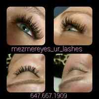 MezmerEyes your lashes for the Holidays!