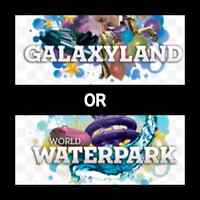 West Edmonton Mall Galaxyland OR Water Park family passes!