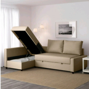 Ikea sofa bed with storage/delivery available