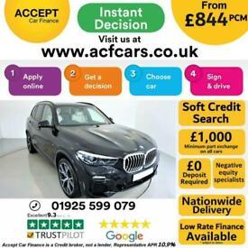 image for 2019 BLACK BMW X5 3.0 XDRIVE30D M SPORT DIESEL AUTO 4X4 CAR FINANCE FR £844 PCM