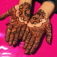 Heena service for a special  occasion