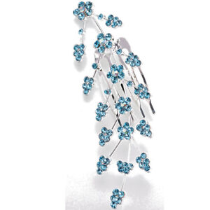 Large Jeweled Hair Comb