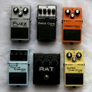 Electric Guitar Pedals for Sale