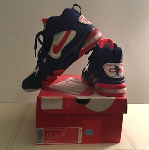 Men's Charles Barkley Nike Air Force Max ( Navy & Red Size 11 )