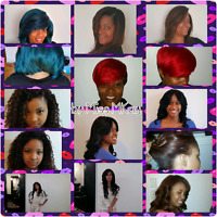 HAIR EXTENSIONS AND NATURAL HAIR SERVICES LASALLE & D-TOWN