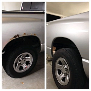 Competitive PRICES !MOBILE BODY WORK,RUST,DENTS,SCRATCHES,HOLES