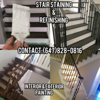 Handyman,Stair Staining,Painting,Furniture Assembly,TV Mounting