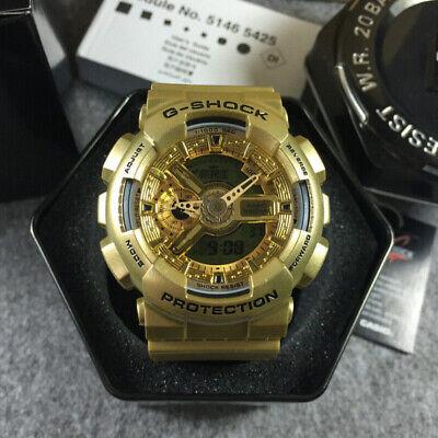 Casio G-Shock   Gold   GA-110GD-9A   Digital & Analogue Watch