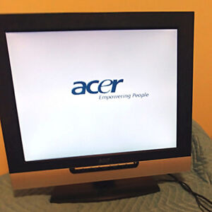 """Acer 20"""" TV / PC monitor"""