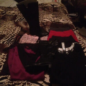 Women's +Size clothing and boots