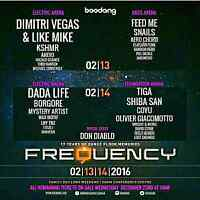 Frequency 2016 Hardcopy Passes