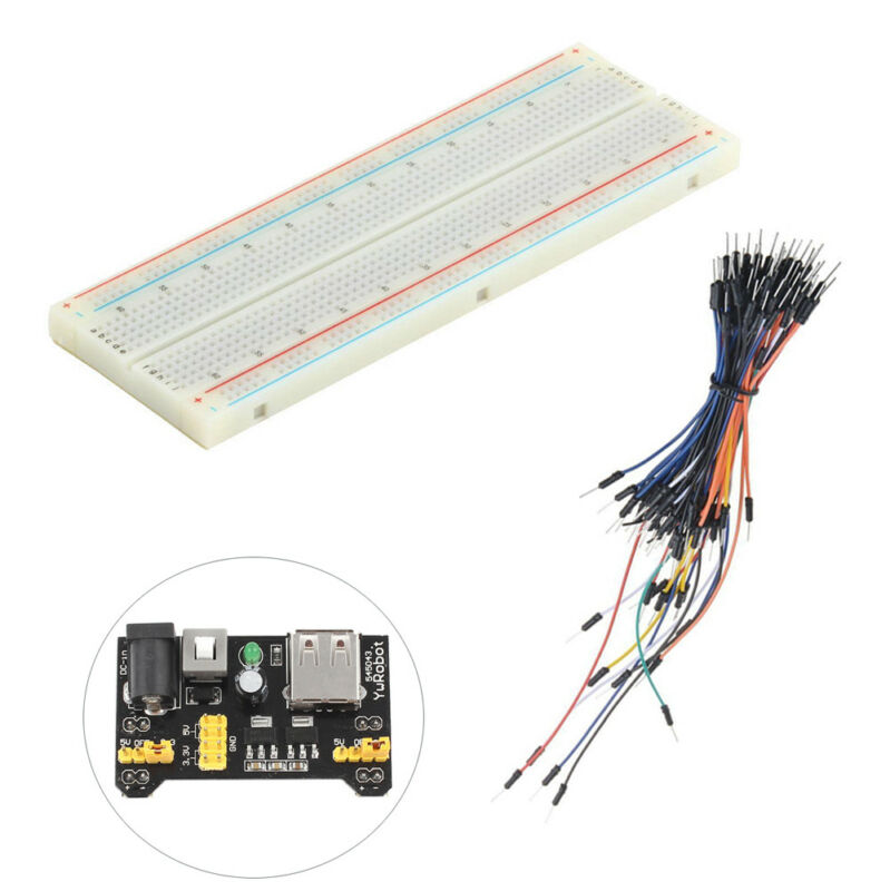 MB-102 Breadboard Protoboard 830 Tie Points 2 buses Test Circuit BBC