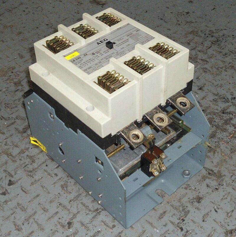 AEG 3-POLE, 600V, 600A CONTACTOR LS330.22