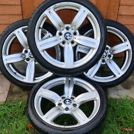 """Bmw 3 series Msport E90 18"""" alloy wheels - BMW Style 167 Reps - Stagge"""
