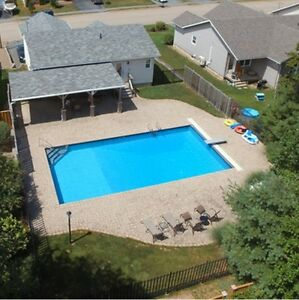 INGROUND POOL IN GLEN ALLAN SUBDIVISION